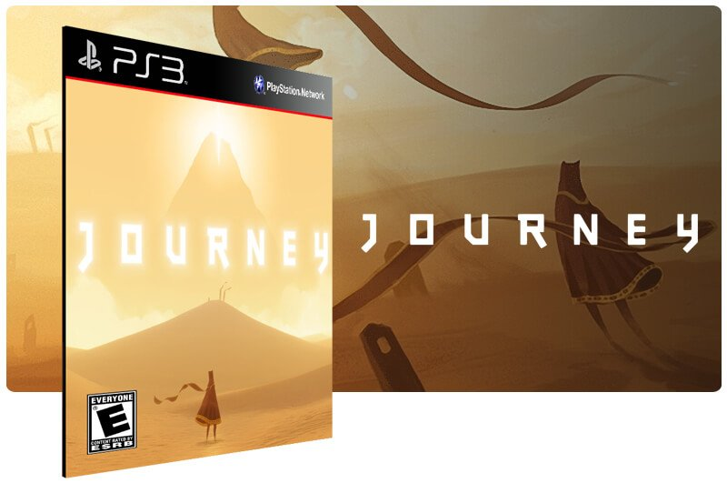 Banner do game Journey para PS3