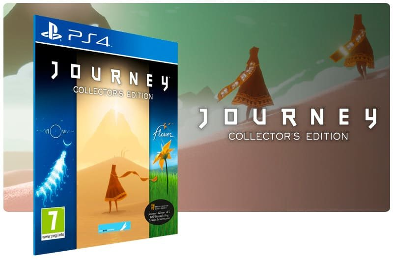 Banner do game Journey Collector's Edition para PS4