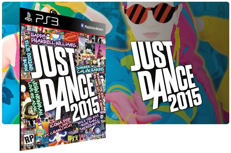Banner do game Just Dance 2015 para PS3