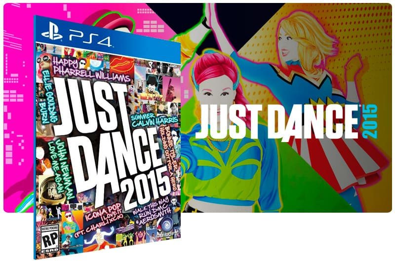 Banner do game Just Dance 2015 para PS4