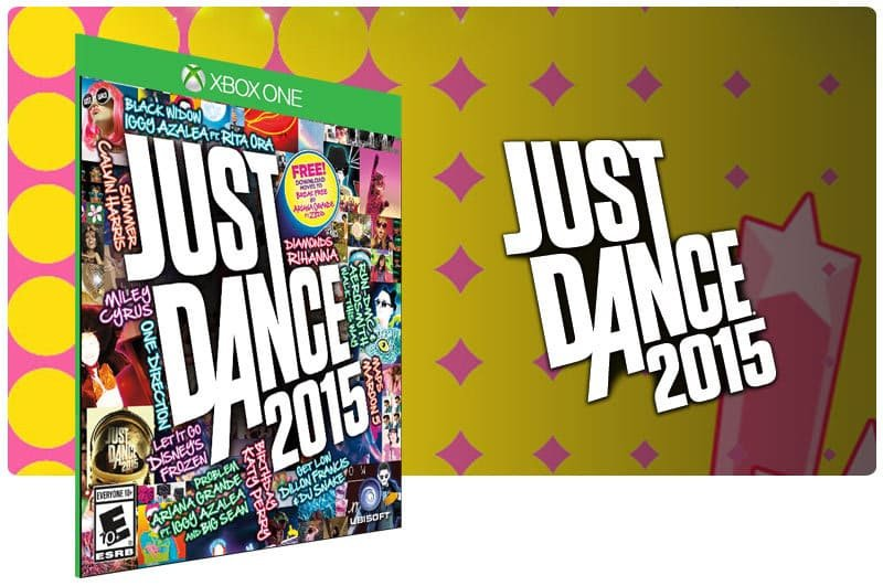 Banner do game Just Dance 2015 em mídia digital para Xbox One