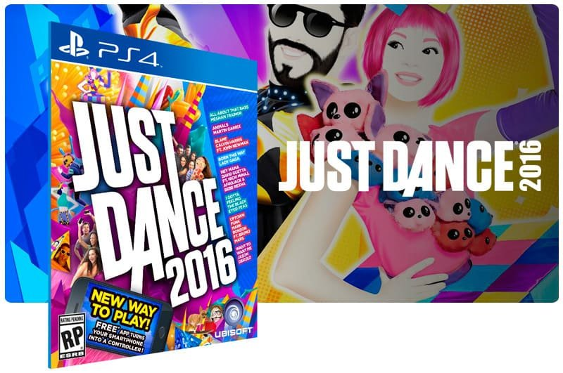 Banner do game Just Dance 2016 para PS4