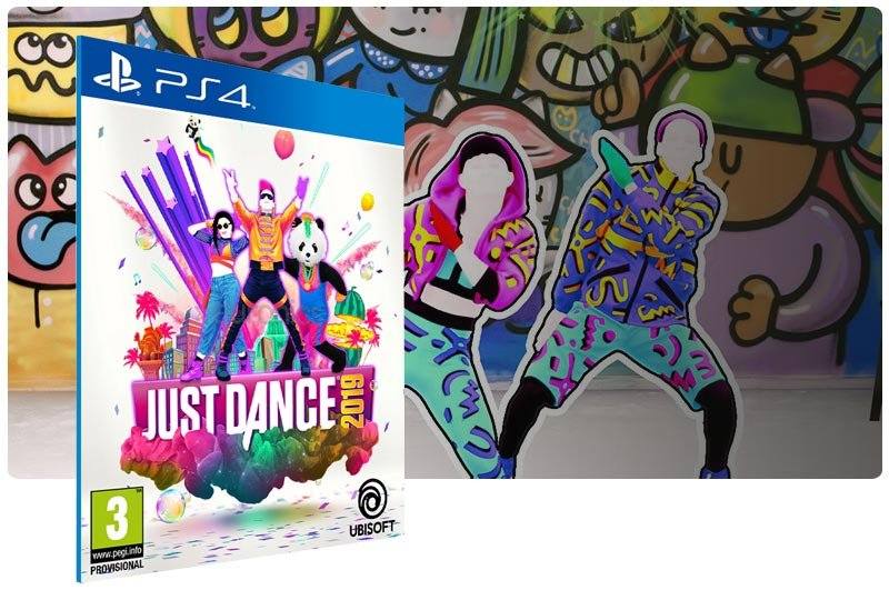 Banner do game Just Dance 2019 para PS4