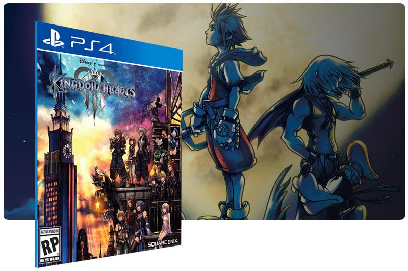 Banner do game KINGDOM HEARTS III para PS4