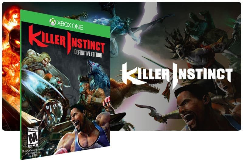Banner do game Killer Instinct: Definitive Edition em mídia digital para Xbox One
