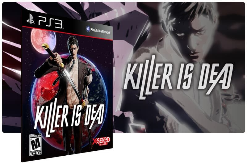 Banner do game Killer Is Dead para PS3