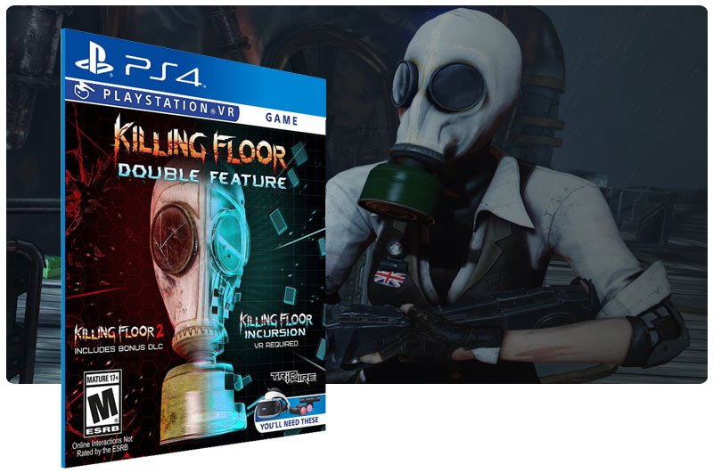 Banner do game Killing Floor: Double Feature em mídia digital para PS4