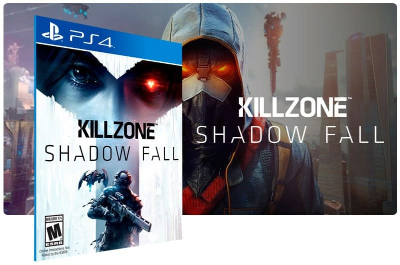 Banner do game Killzone Shadow Fall para PS4