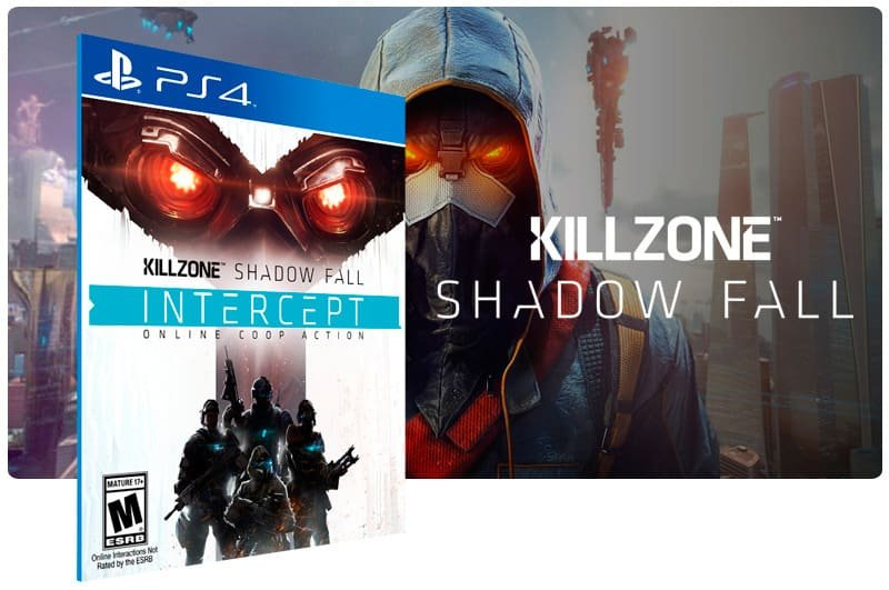 Banner do game Killzone Shadow Fall Intercept para PS4