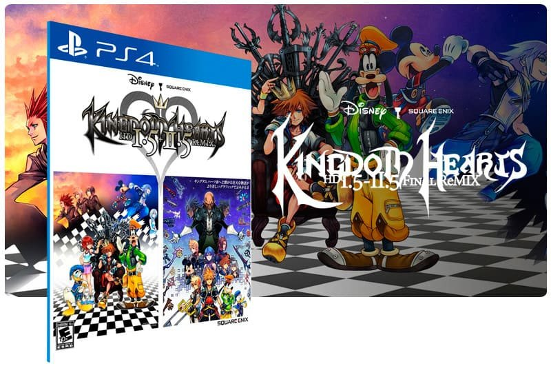 Banner do game Kingdom Hearts Hd 1.5 + 2.5 Remix para PS4