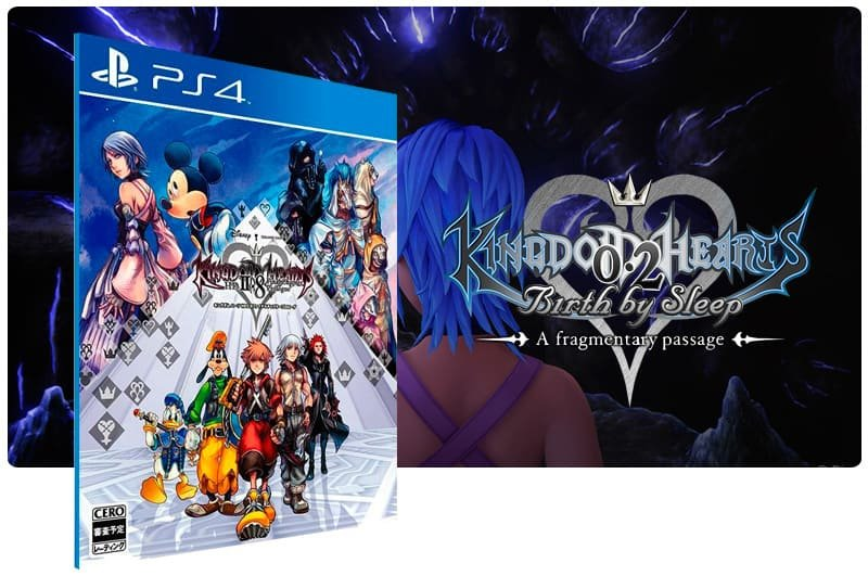 Banner do game Kingdom Hearts Hd 2.8 Final Chapter Prologue para PS4