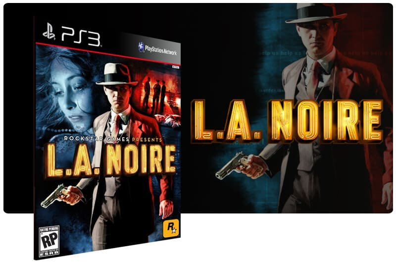 Banner do game L.A. Noire para PS3