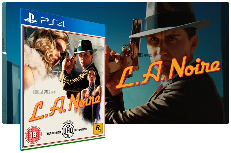 Banner do game L.A. Noire para PS4