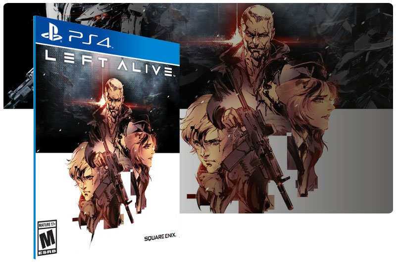 Banner do game LEFT ALIVE DAY ONE EDITION para PS4