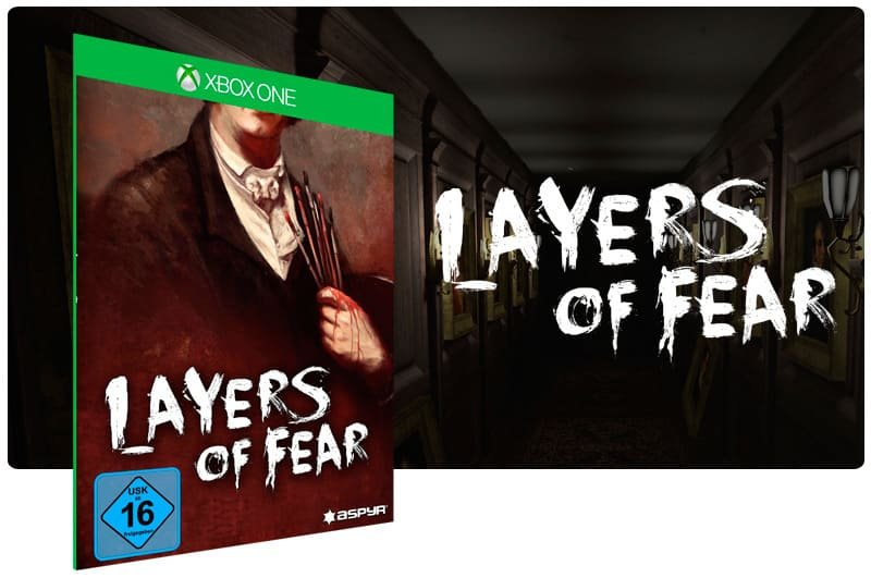 Banner do game Layers of Fear em mídia digital para Xbox One