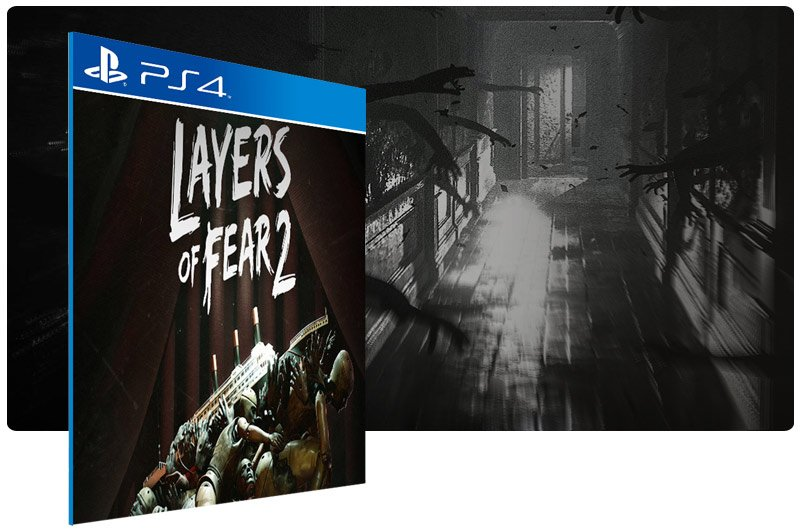 Banner do game Layers of Fear 2 para PS4