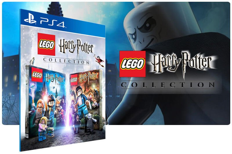 Banner do game Lego Harry Potter Collection para PS4