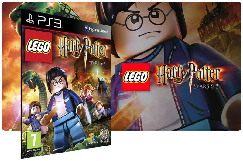 Banner do game Lego Harry Potter Years 5 7 para PS3