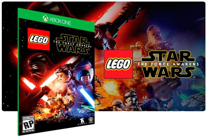 Banner do game Lego Star Wars: O Despertar Da Força em mídia digital para Xbox One