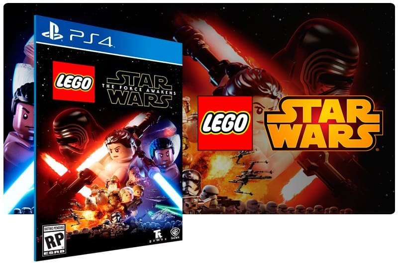 Banner do game Lego Star Wars: The Force Awakens para PS4