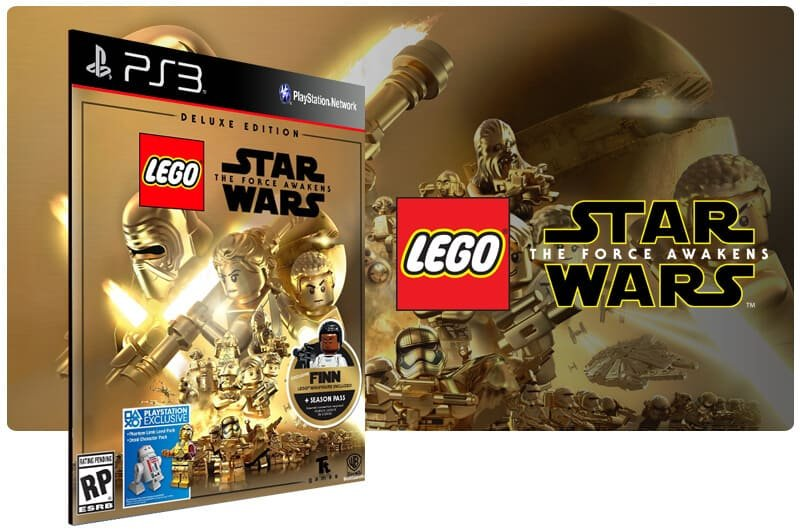 Banner do game Lego Star Wars: The Force Awakens Deluxe Edition para PS3