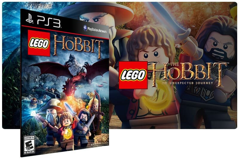 Banner do game Lego The Hobbit para PS3