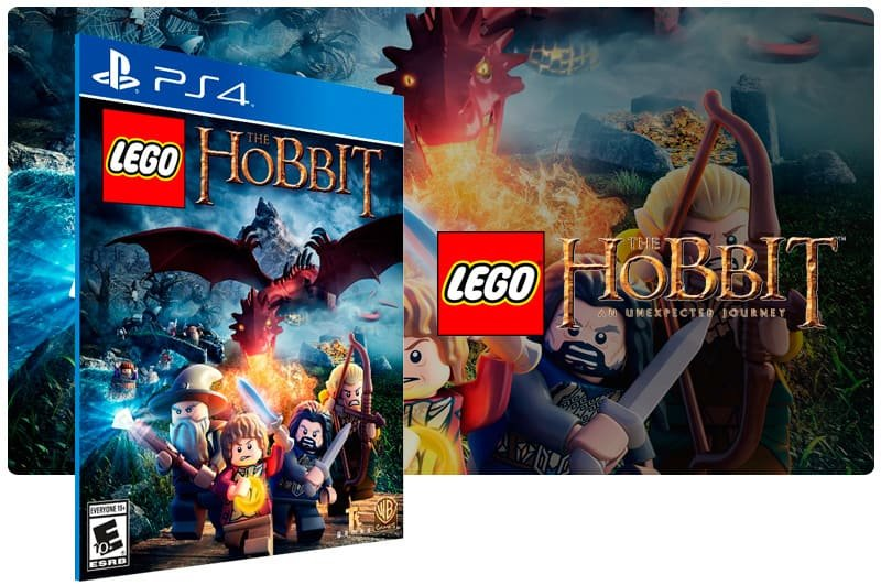 Banner do game Lego The Hobbit para PS4