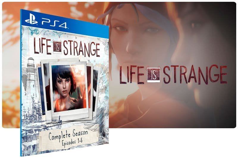 Banner do game Life is Strange Complete Season para PS4