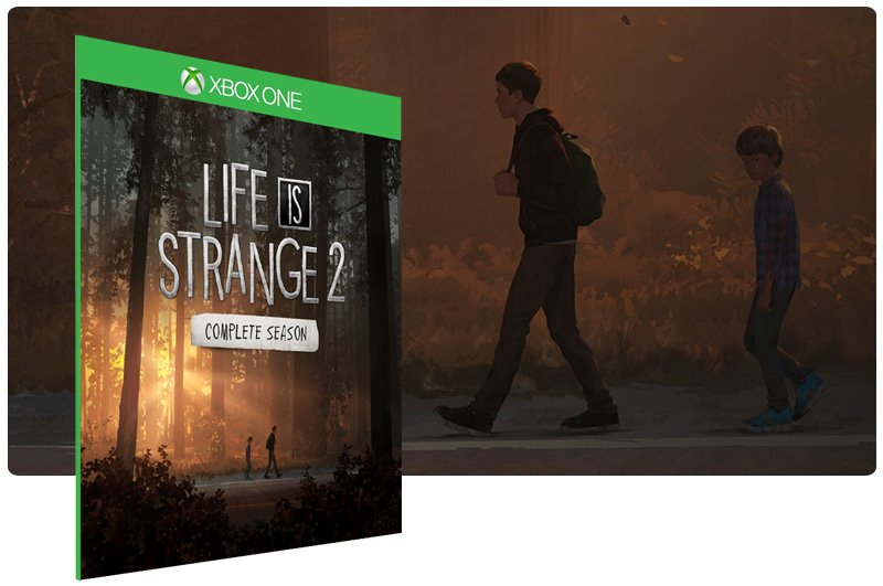 Banner do game Life is Strange 2 - Temporada Completa em mídia digital para Xbox One