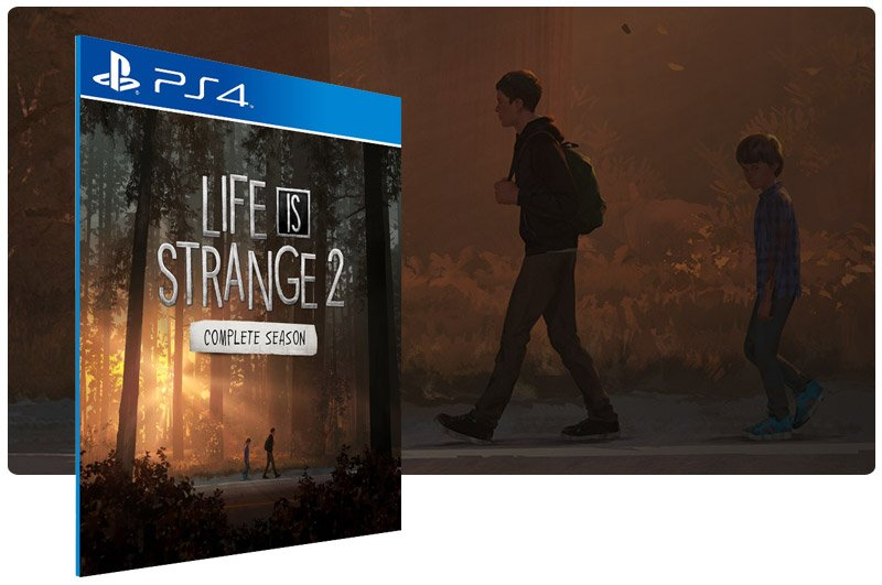 Banner do game Life is Strange 2 Complete Season para PS4