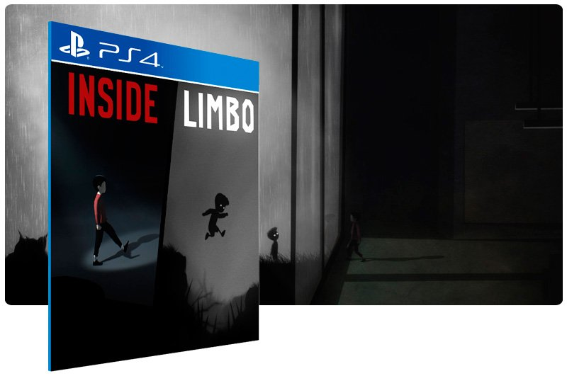 Banner do game Limbo Inside Bundle para PS4