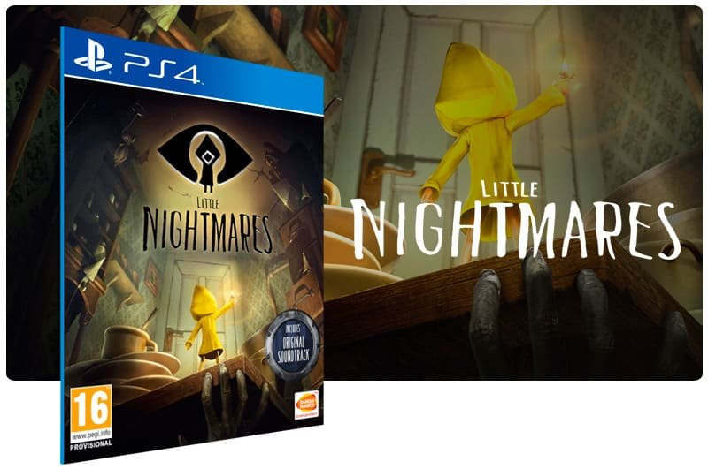 Banner do game Little Nightmares para PS4