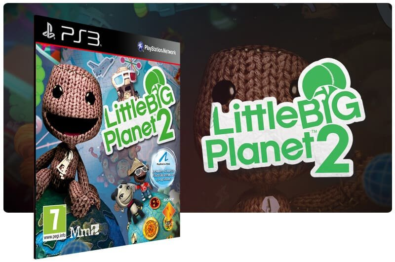 Banner do game Littlebigplanet 2 para PS3