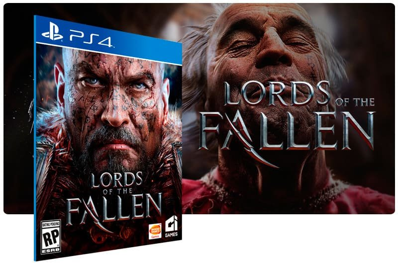 Banner do game Lords of The Fallen para PS4