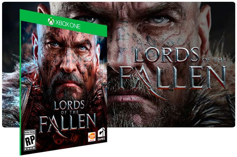 Banner do game Lords of The Fallen em mídia digital para Xbox One