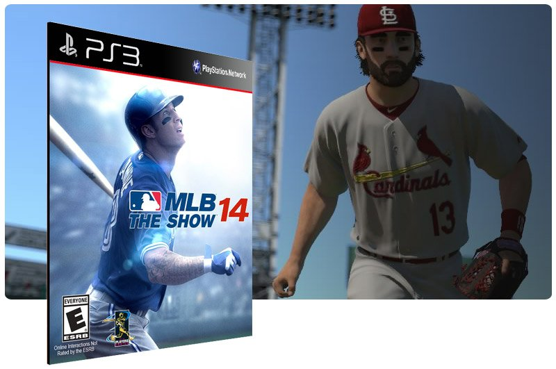 Banner do game MLB 14 para PS3