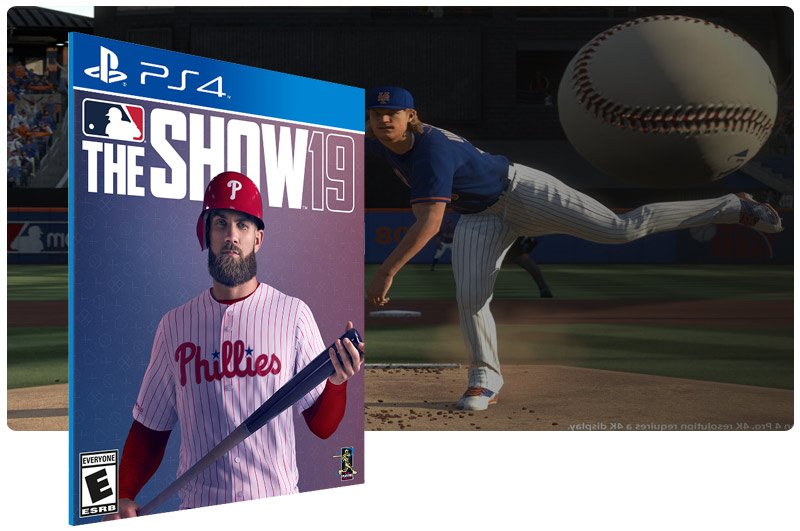 Banner do game MLB The Show 19 para PS4