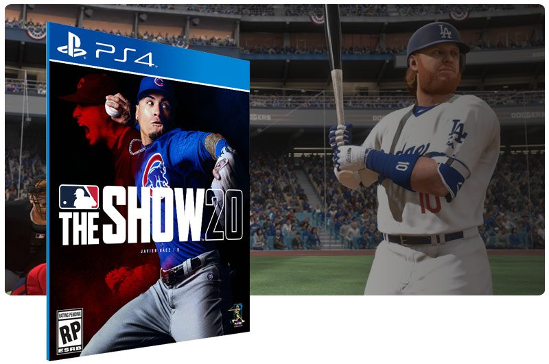 Banner do game MLB The Show 20 para PS4