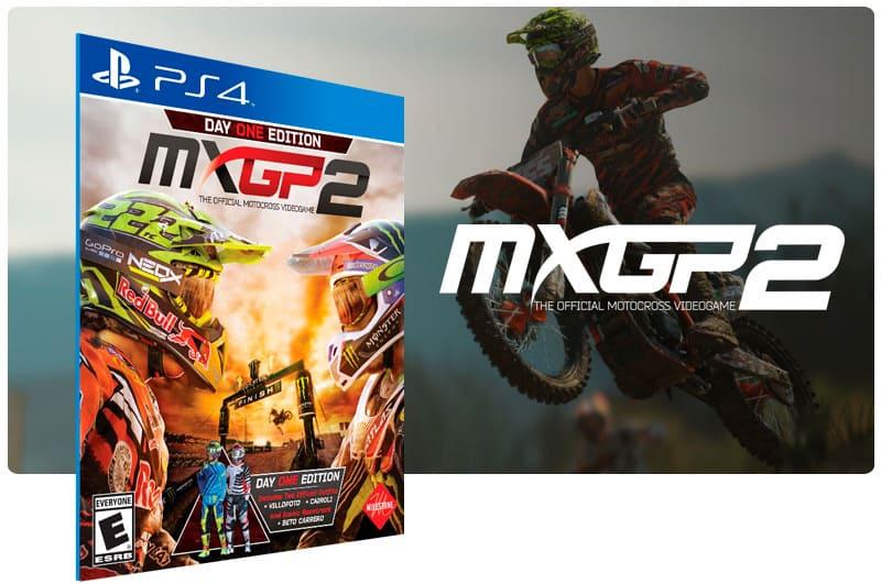 Banner do game MXGP 2 The Official Motocross Videogame para PS4