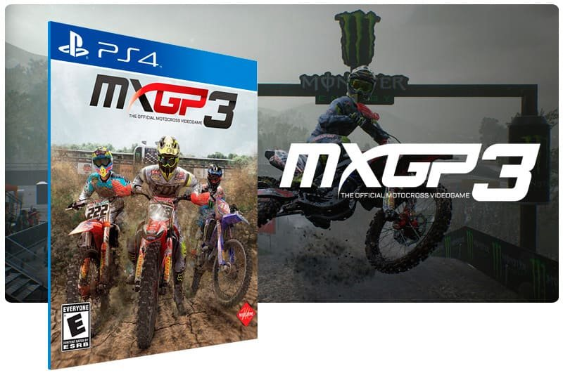 Banner do game MXGP 3 The Official Motocross Videogame para PS4