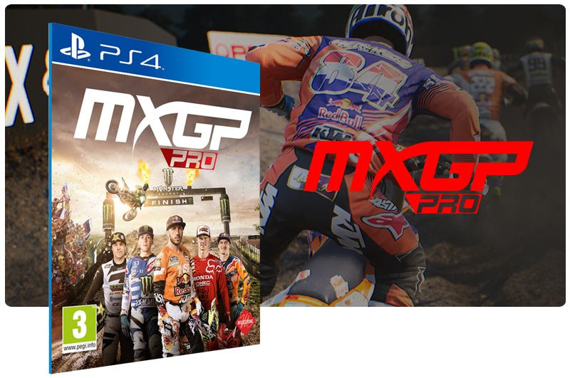 Banner do game MXGP PRO para PS4