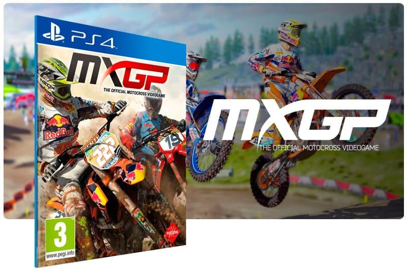 Banner do game MXGP The Official Motocross Videogame para PS4