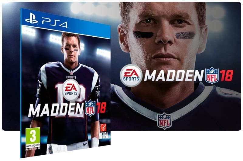 Banner do game Madden NFL 18 Standard Edition para PS4