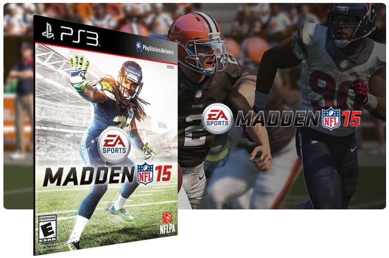 Banner do game Madden NFL 15 para PS3