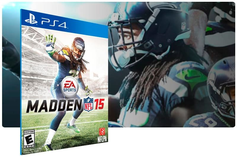Banner do game Madden Nfl 15 para PS4