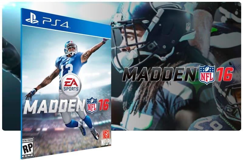 Banner do game Madden NFL 16 Standard Edition para PS4