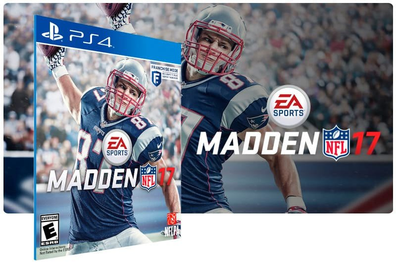 Banner do game Madden NFL 17 para PS4