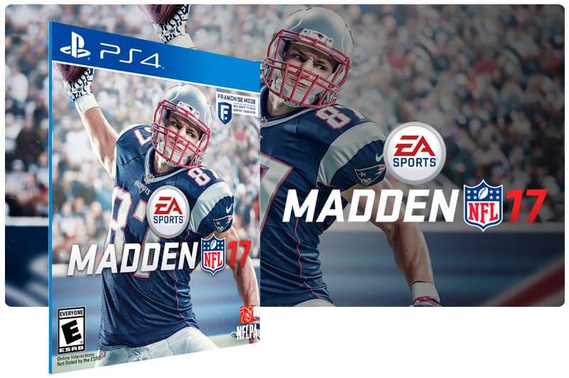 Banner do game Madden NFL 17 para PS4