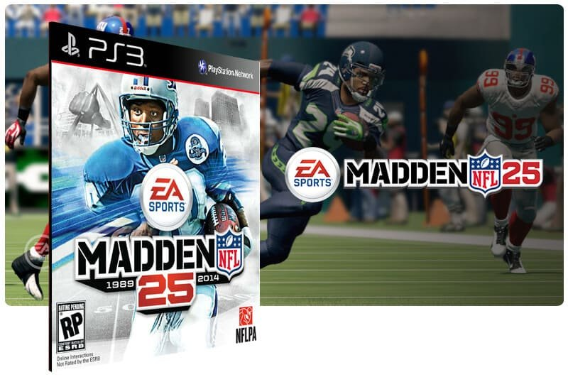 Banner do game Madden NFL 25 para PS3