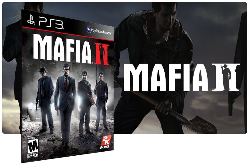 Banner do game Mafia 2 para PS3